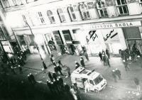 Demonstrace v Praze před listopadem 1989