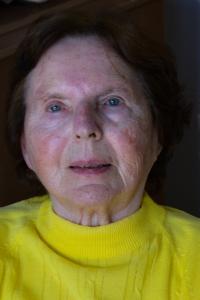 Súčasná fotografia pamätníčky Eriky Bránikovej