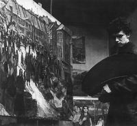 Milan Dobeš na konci štúdia VŠMU 1955