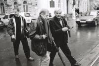 Cestou do hospody na Národní třídě - Václav Havel a Miroslav Masák, 2011