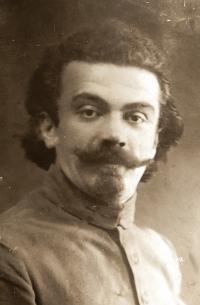 V. L. Borin,  fotografie z Francouzské cizinecké legie, pravděpodobně rok 1920