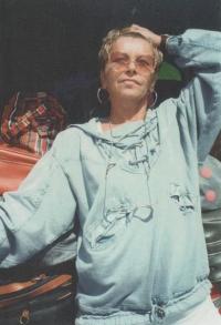 Magda na dovolené u moře, 1990
