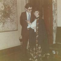 Svatba Magdy a Cesara na úřadě v Miláně (ještě neměla všechny potřebné doklady), Palazzo Marino únor 1972
