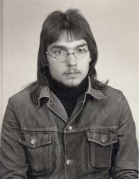 Miloslav Trégl v patnácti letech