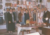OF Technické univerzity v Liberci v prezidentské kanceláři Václava Havla