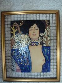 Magdin obraz Pocta Gustavu Klimtovi, 2000