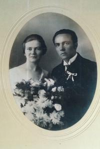 Rodiče Josefa Mevalda