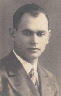 Tatínek pamětnice Stanislav Navrátil