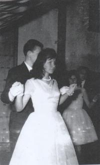 Magdin maturitní ples, SVVŠ Stropkov, 1962