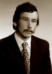 Portrait of Jan Zima from 1980s