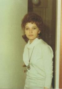 Magda bezprostředně po emigraci do Itálie, Turín 1971