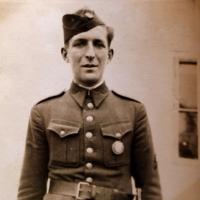 Manžel Marie Veselé v uniformě prvorepublikové armády