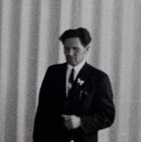 Švagr pamětnice František Babický, který byl během války členem partyzánské skupiny operující v oblasti mezi Táborem a Benešovem