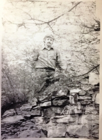 Daniel Kroupa v 26 letech v roce 1976