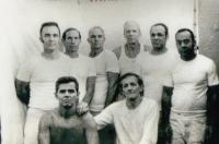 Luis Zuniga, Eleno Oviedo, Osvaldo Figueroa, Jose Pujals Medero, Ernesto Diaz Angel Pardo, Reynaldo Figueroa, Julio Ruiz Pitaluga- Prision Combinado del Este. La Habana.—1988