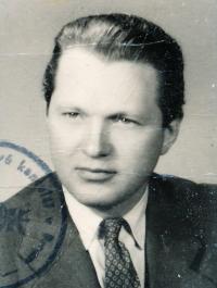 Vladimír Brabec v 50. letech