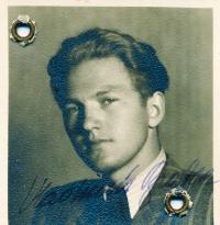 Vladimír Brabec v době pobytu v Paříži
