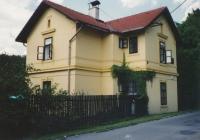 Dům pamětníkova pradědečka Eduarda Grégra ve Lštění