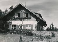 Vila Grošíček, asi 1944