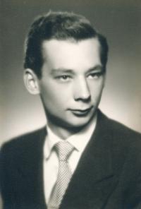 Vladimír Grégr, foto z tanečních, 1949