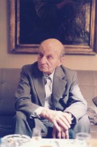Otec Vladimíra Grégra krátce před smrtí v roce 1986