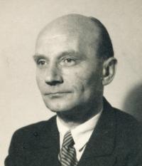 Otec Vladimíra Grégra v roce 1945