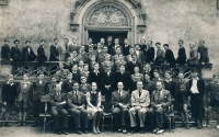 Středočeská kolej krále Jiřího z Poděbrad, asi 1947