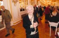 Hana Truncová ve Španělském sále Pražského hradu v roce 2013