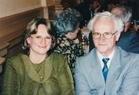 Dcera Dana a Zdeněk Zůna