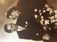 Svadba 1951 v Prahe