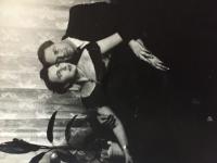 s manželom Alexandrom Tkáčom - fyzikálny chemik