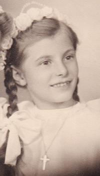 Heidrun as a young girl