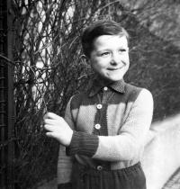 Vladimír Šiler ve Znojmě / přibližně 1959