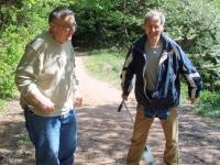 Na rekondičním pobytu pořádaným Společností Parkinson, z. s., Štikov, 26. dubna 2009