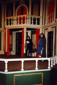 V Londýně v roce 1990