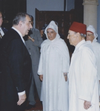 In a conversation with the King of Morrocco, Hassan II., upon handing over the credentials of the Ambassador of the Czech Republic, 2000