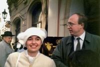 Svatba s Leou, Praha 28.3.1992