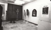 Výstava J. Jílka, 18. listopadu 1989, Rýmařov