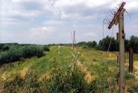 Československá hranice s Rakouskem v Záhorské Vsi / léto 1990