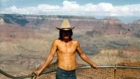 Jiří Barteček na snímku v Grand Canyon / 1977