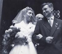 Helena a Karel Fáberovi 1961
