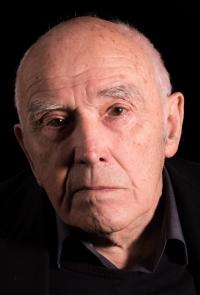 Václav Cigler při natáčení