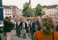 Václav Havel v Litoměřicích, 1990
