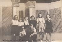 Školní představení (1947-1948)