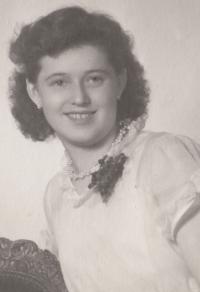 Bohumila Jindrová v roce 1951