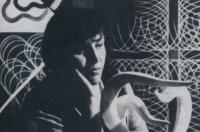 Dana Puchnarová v ateliéru v Českých Budějovicích 1978