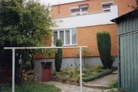 Půldomek na Letné ve Zlíně, kde pamětnice žila v letech 1957 až 2005