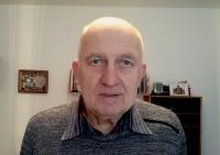 Josef Dostál z natáčení pro Paměť národa v únoru 2020