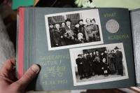 Z rodinného alba: pamětníkova promoce (1951).