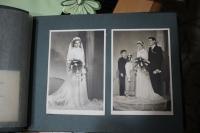 Z rodinného alba: pamětníkova svatba (1954).